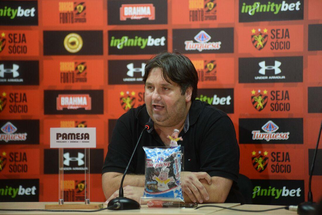 Diretor de futebol do Sport, Nelo Campos.