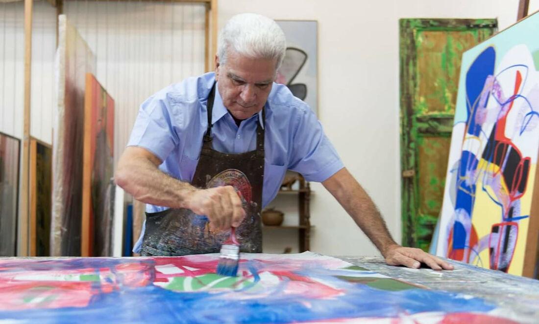 Autodidata, Carlos Pragana mostra retrospectiva de sua obra no novo espaço no Pina, onde ficará em cartaz a exposição '1966'