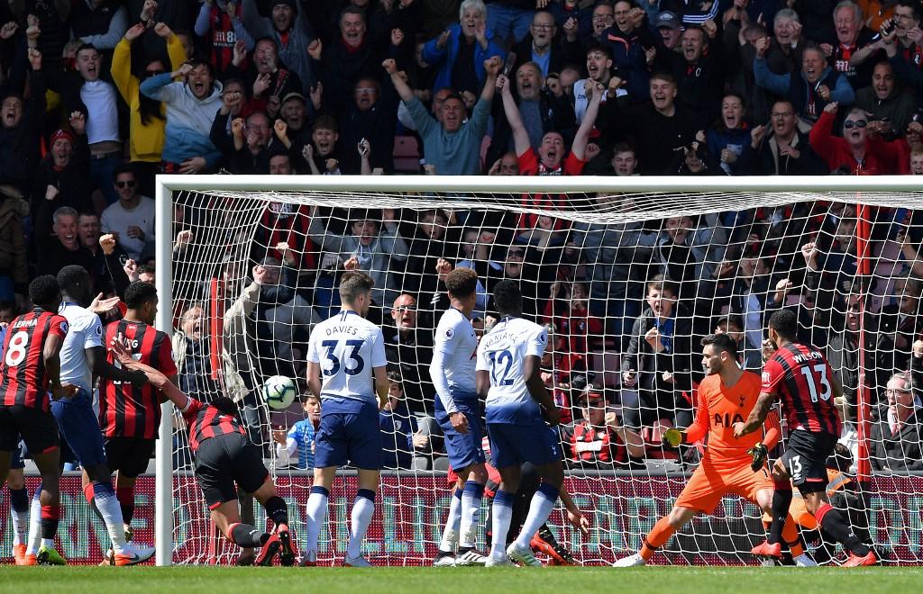 Bournemouth 1x0 Tottenham