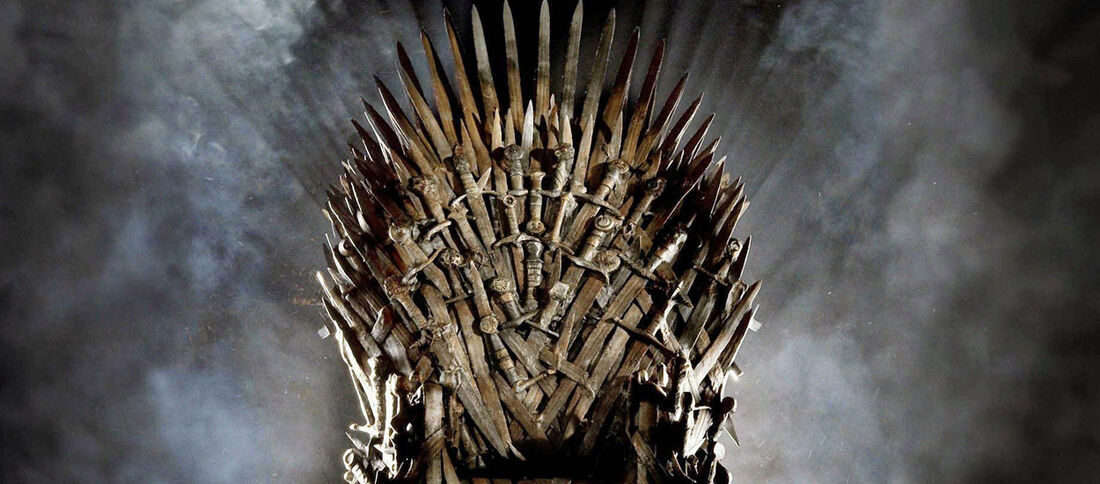 Trono de Ferro, da série 'Game of Thrones'