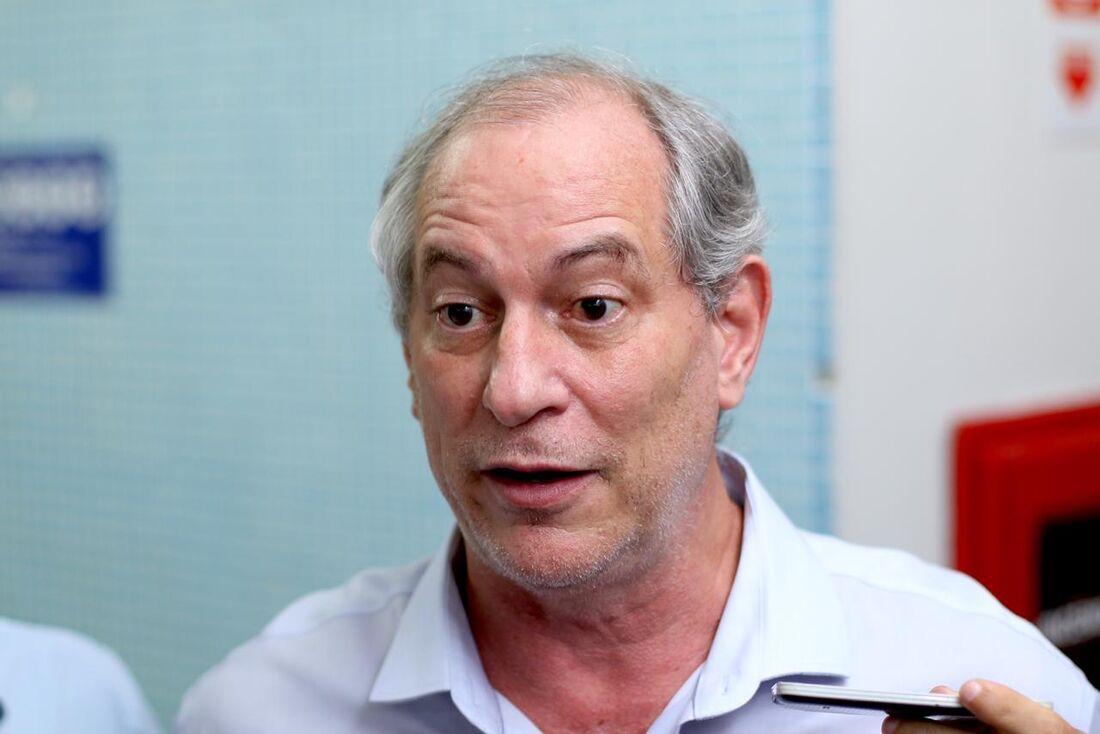 Ex-presidenciável Ciro Gomes (PDT)