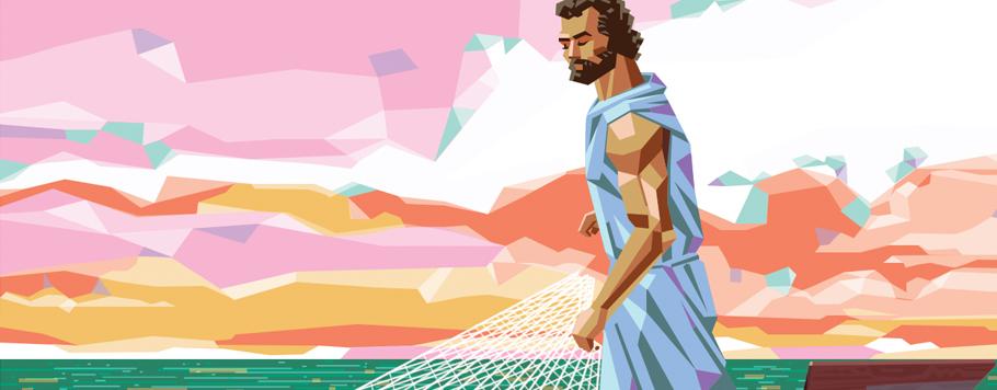São Pedro nasceu na Galileia e se chamava Simão