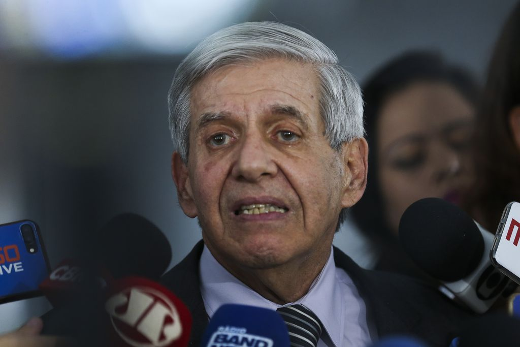 Ministro do Gabinete de Segurança Institucional (GSI), general Augusto Heleno