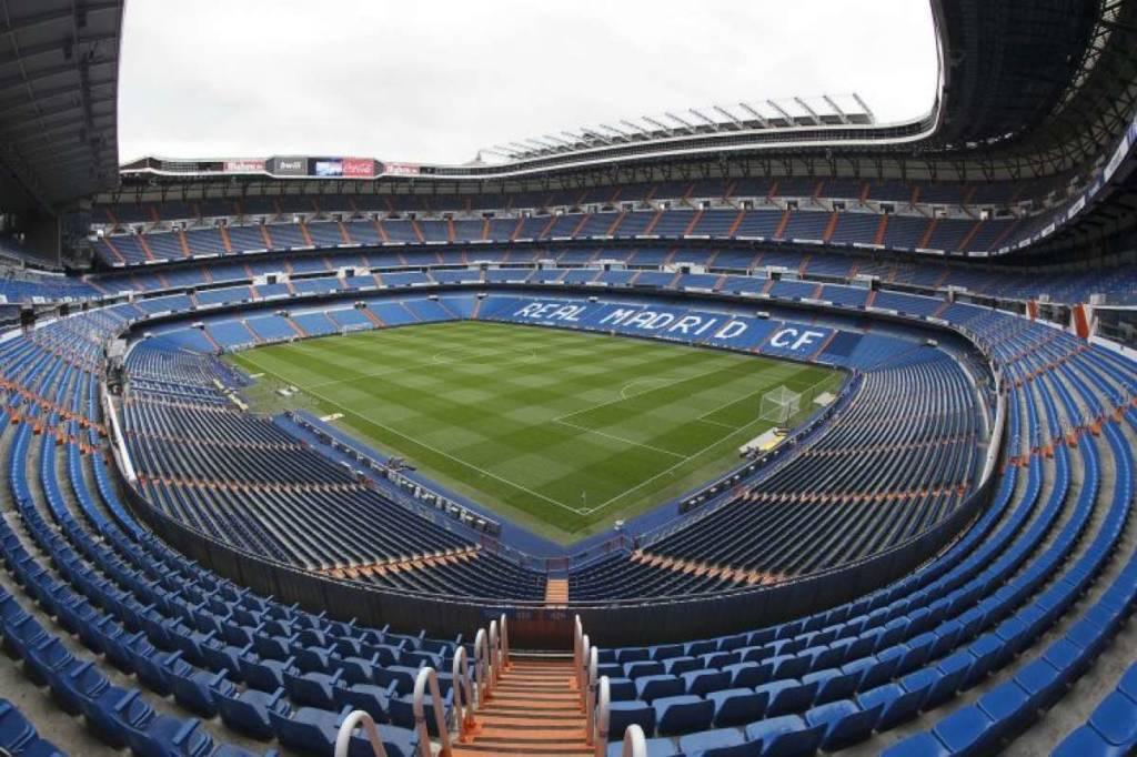 Estádio Santiago Bernabéu, do Real Madrid