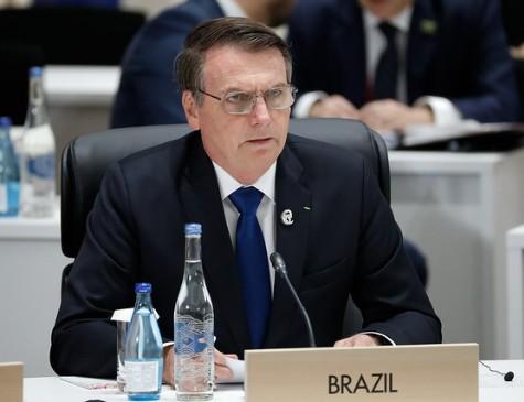 Bolsonaro se reuniu com líderes do Brics