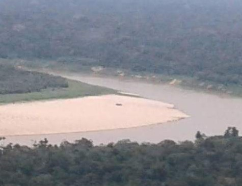 Navegação naufragou no Rio Juruá