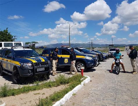 Operação da PRF no São João
