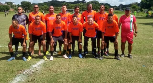 Equipe do Cruelzinho, um dos times da Liga União