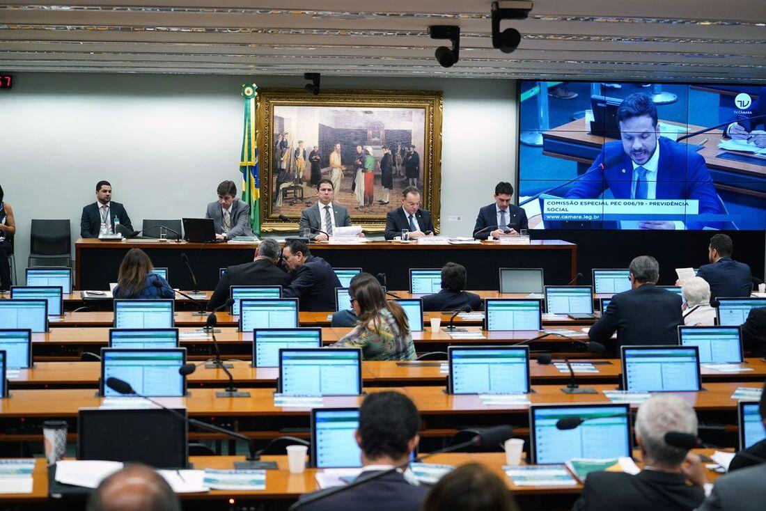 Comissão Especial para avaliar a proposta da Reforma da Previdência