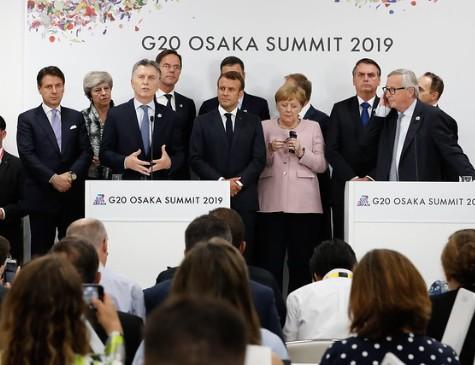 Chefes de Estado participaram, nesta sexta-feira (28), da primeira reunião do G20