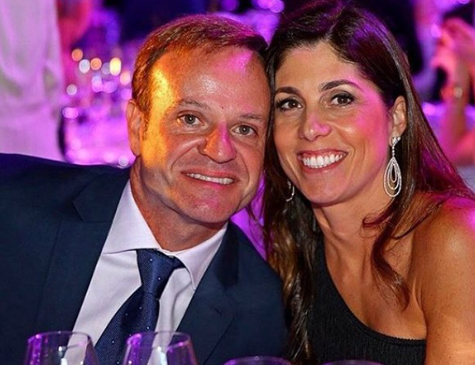 Rubens Barrichello e Silvana Giaffone