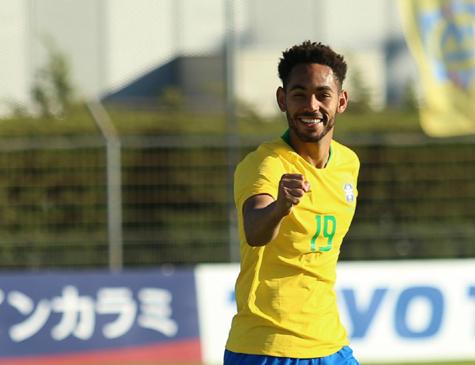 Matheus Cunha se tornou o artilheiro do Torneio de Toulon, disputado em julho