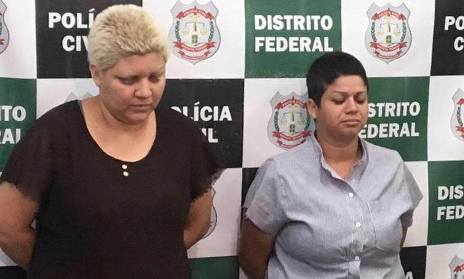 Rosana Auri da Silva Cândido e sua companheira, Kacyla Pryscila Santiago Damasceno Pessoa, confessaram ter cometido o crime.
