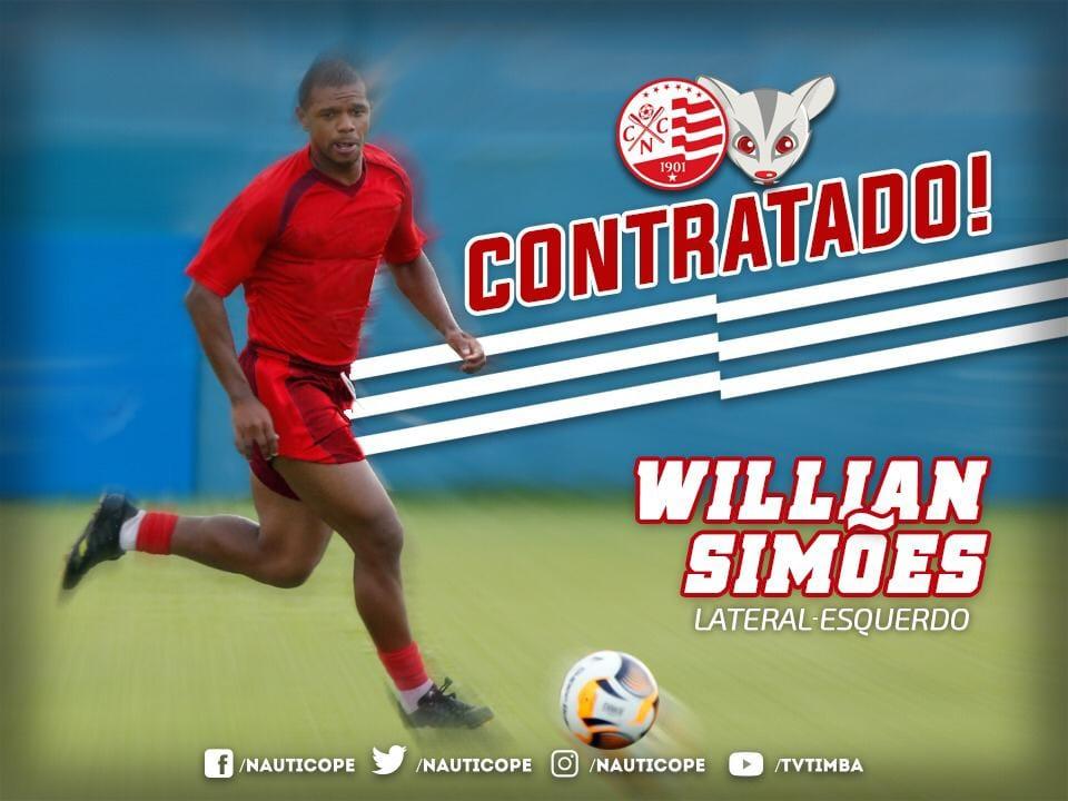 William Simões, novo lateral do Náutico