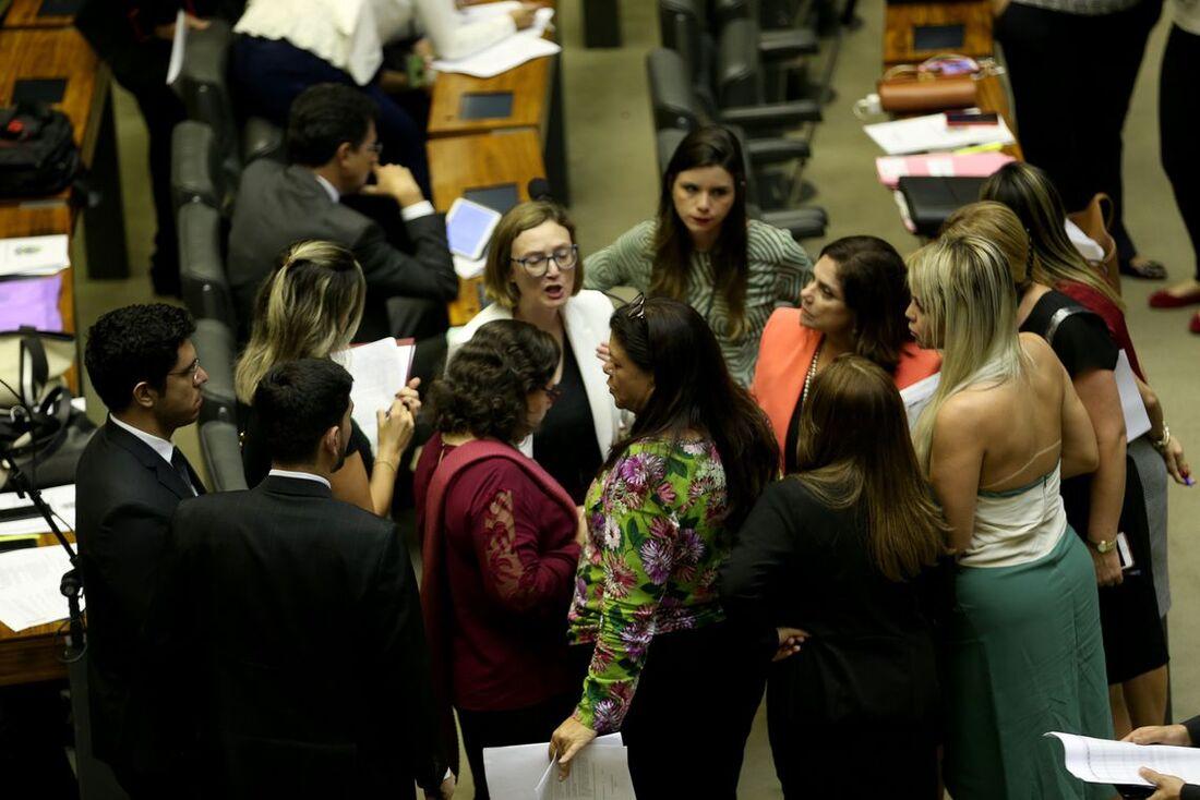 Bancada feminina na Câmara dos Deputados