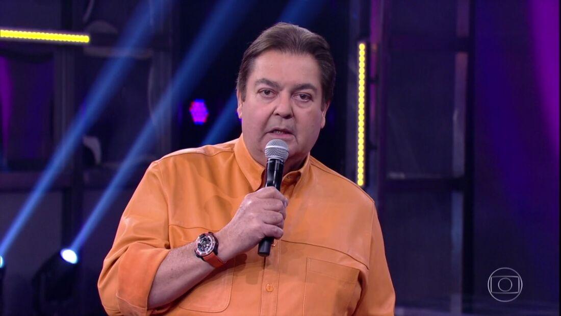 Fausto Silva, apresentador do Domingão do Faustão