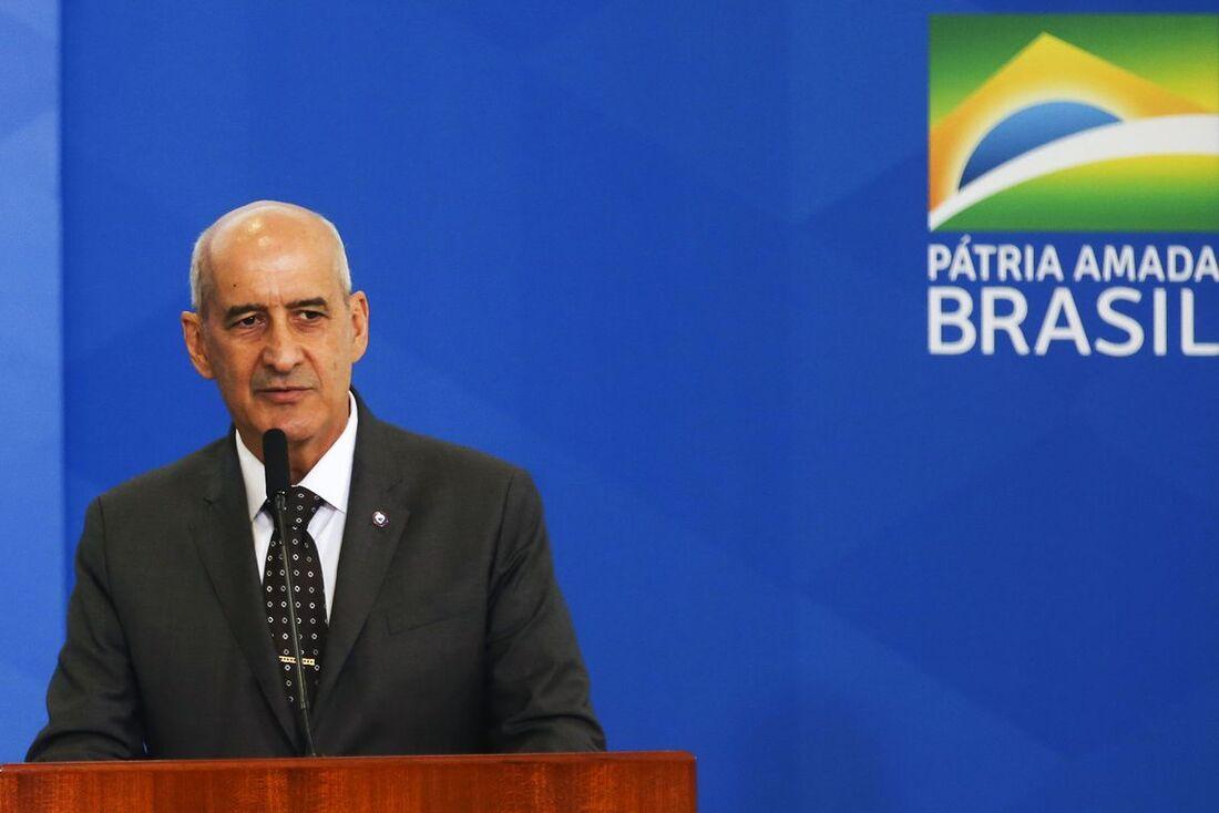 Ministro da Secretaria de Governo, general Luiz Eduardo Ramos