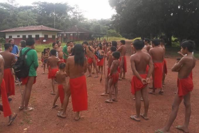 Indígenas Waiãpi fugiram para uma aldeia vizinha para se protegerem dos ataques