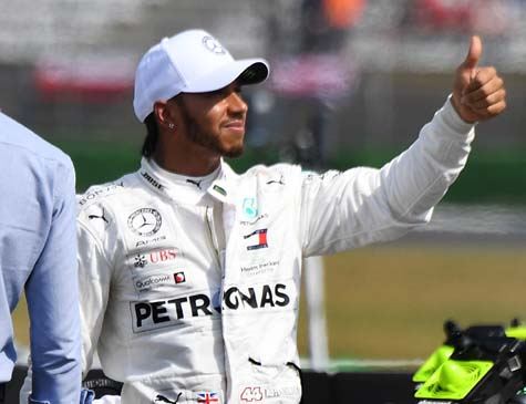 Hamilton liderou campeonato de forma tranquila