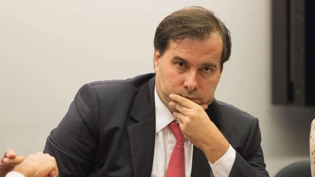 O deputado federal Rodrigo Maia (DEM-RJ), presidente da Câmara