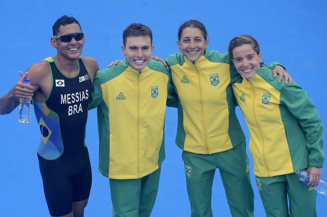 Luisa Baptista, Vittoria Lopes, Manoel Messias e Kaue Willy levaram o título, ao superar o Canadá e o México.