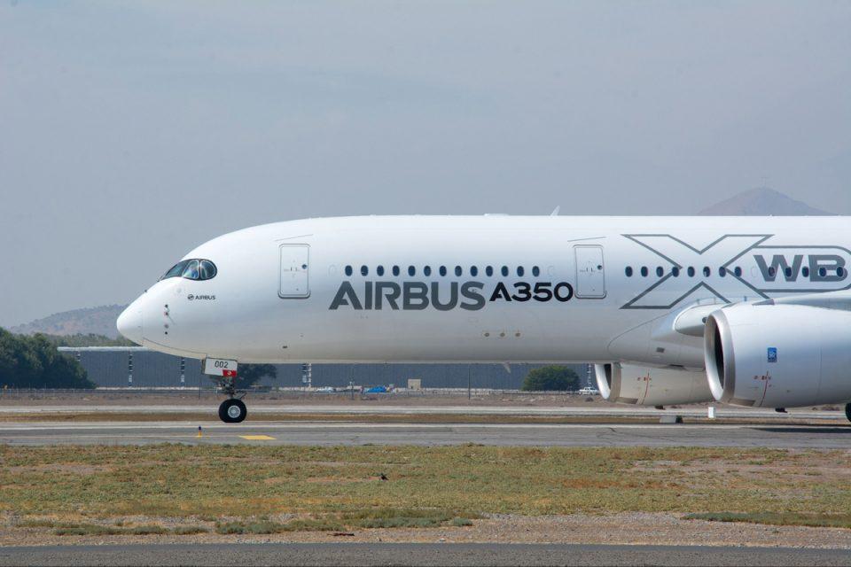 Avião da Airbus