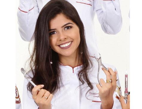 Alessandra Tamyris Tristão Santos, estudante de odontologia vítima do atropelamento