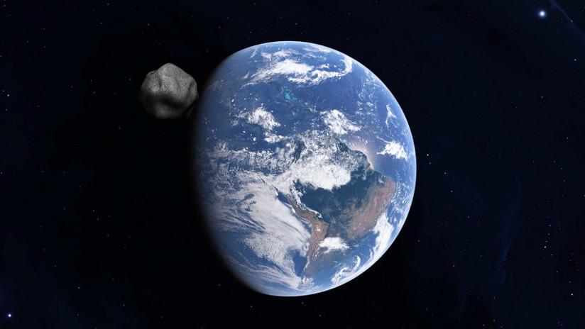 Imagem ilustrativa | Asteroide e Terra