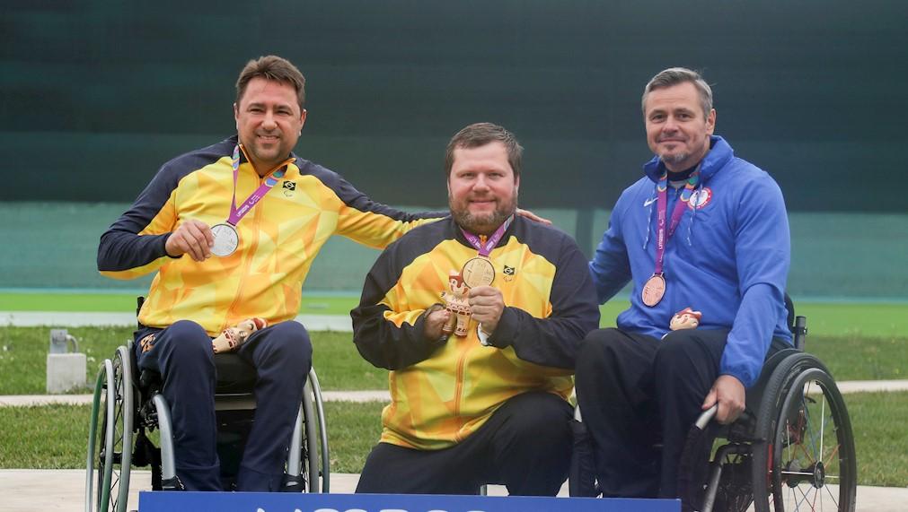O Brasil segue na liderança do quadro de medalhas dos Jogos Parapan-Americanos de Lima