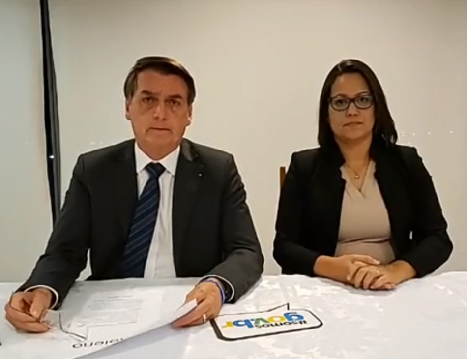 Presidente Jair Bolsonaro, do PSL