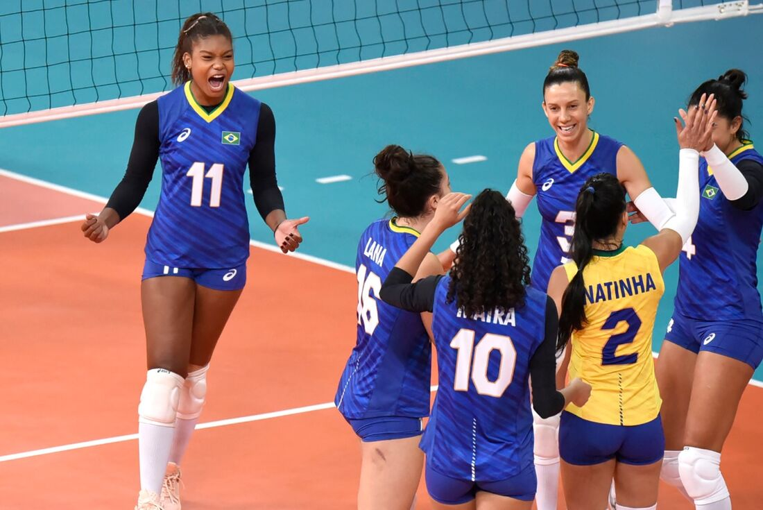 Brasil venceu Estados Unidos por 3x0