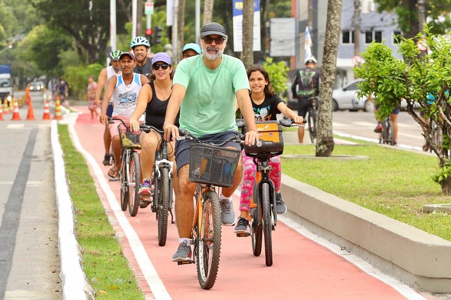 Ciclovia Graça Araújo fica localizada na área central do Recife