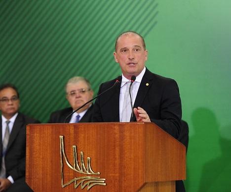 Ministro da Casa Civil, Onyx Lorenzoni