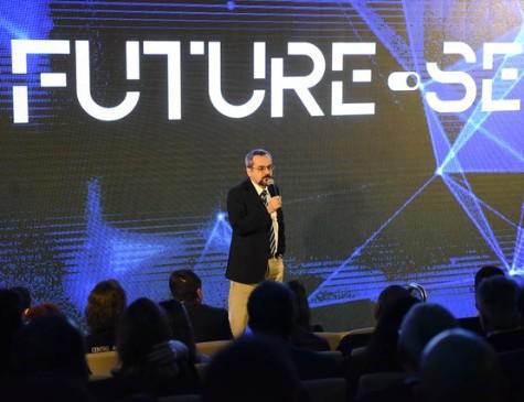 Ministro da Educação, Abraham Weintraub, no lançamento do programa Future-se