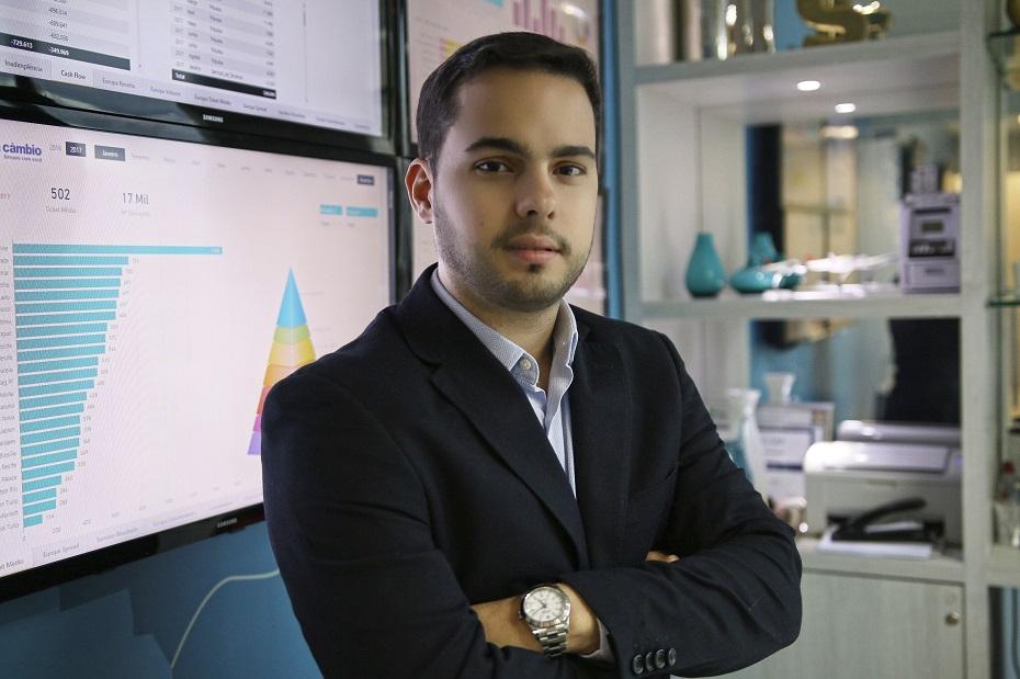 O CEO da Z.ro, Edisio Pereira Neto