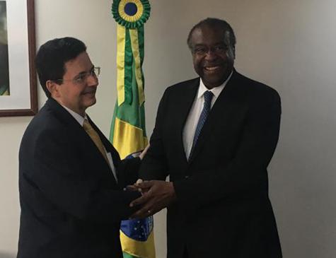 Antônio Campos, presidente da Fundaj e Carlos Alberto Decotelli, presidente do FNDE