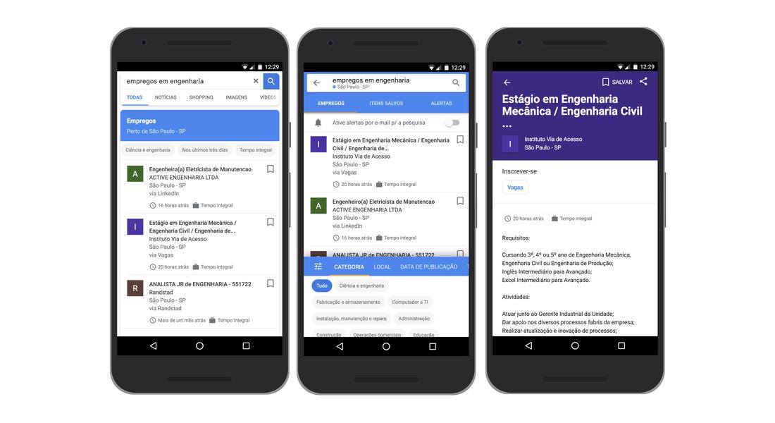 Buscador do Google pode ser grande ferramenta para achar vagas de emprego