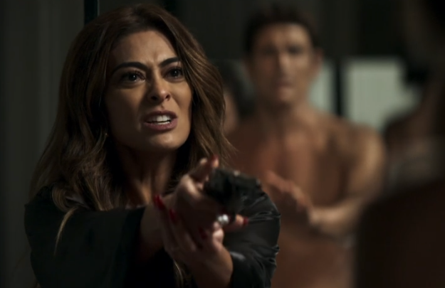 A atriz Juliana Paes interpreta a personagem Maria da Paz