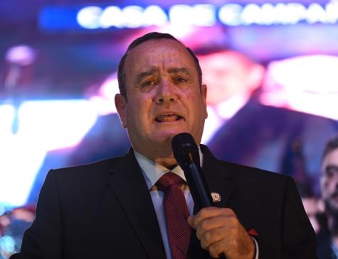 Alejandro Giammattei, presidente da Guatemela