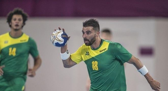 Felipe Borges foi o jogador que mais marcou na partida, com nove gols