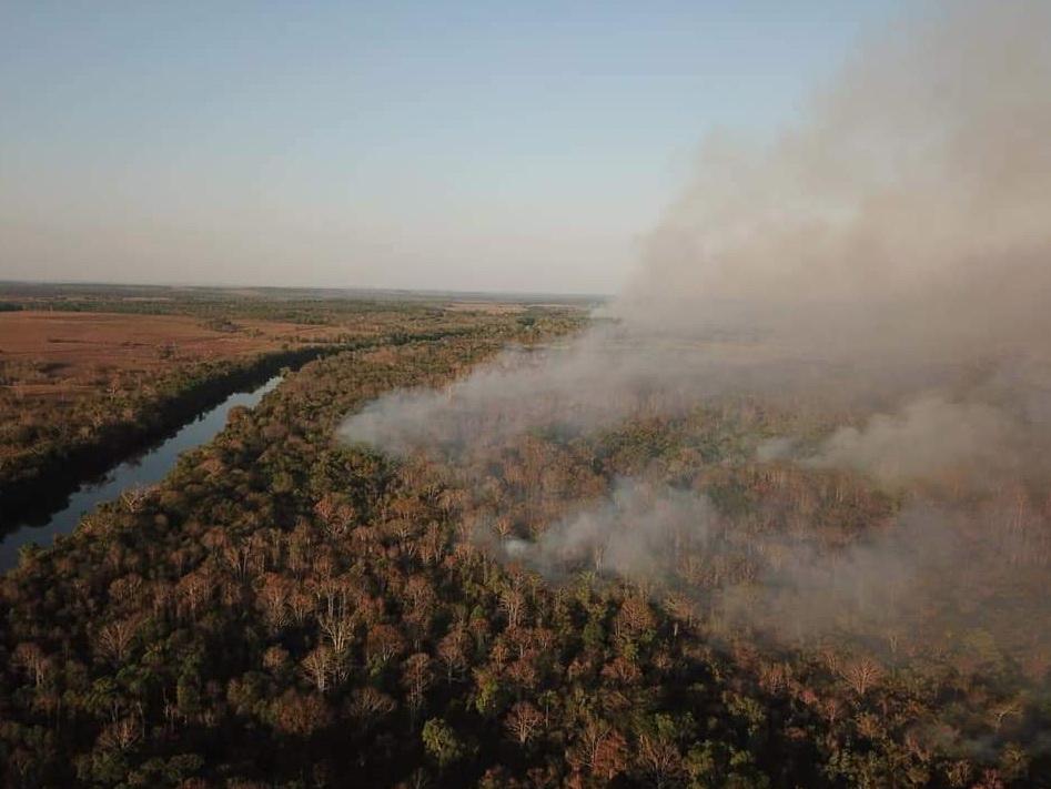 Queimada em Rondônia