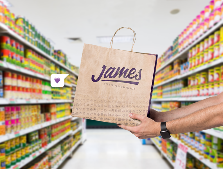 James Delivery, aplicativo de entregas que chegou ao Recife