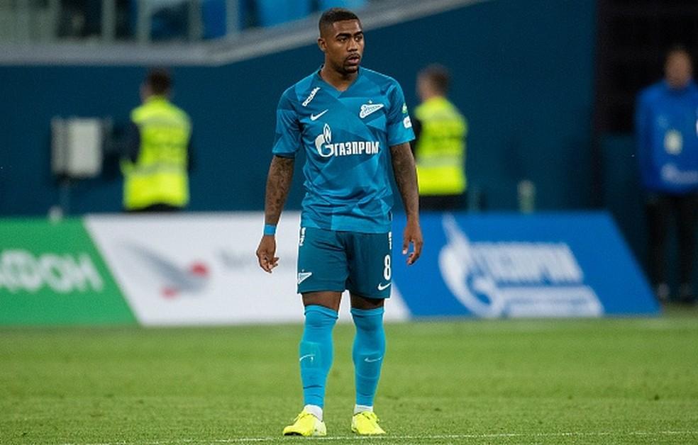 Malcom teria sofrido racismo nesse domingo (4), quando torcedores do Zenit levantaram faixa irônica nas arquibancadas