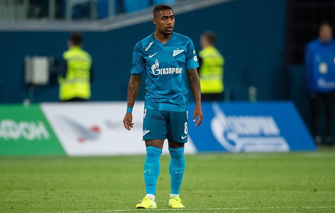 Malcom, atual jogador do Zenit