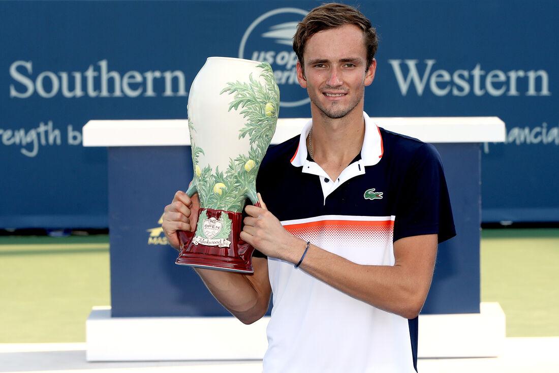 Russo Daniel Medvedev é uma das revelações do tênis.