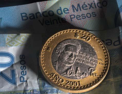 Moeda de R$ 20 Pesos Mexicanos
