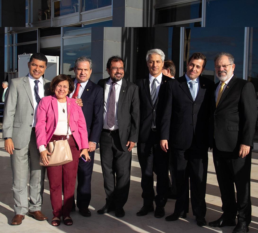 Deputado federal Tadeu Alencar, líder do PSB, integrou a comissão que foi ao Supremo