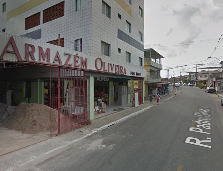 Crime ocorreu na rua Padre Oliveira