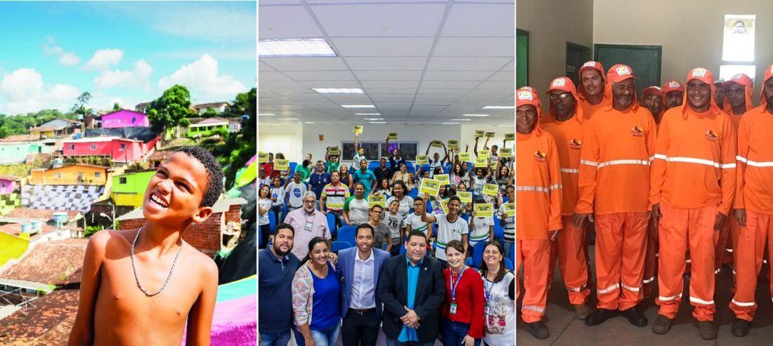 Recife, São Lourenço da Mata, na Região Metropolitana, e Santa Cruz da Baixa Verde, no Sertão do Pajeú, concorrem ao prêmio.