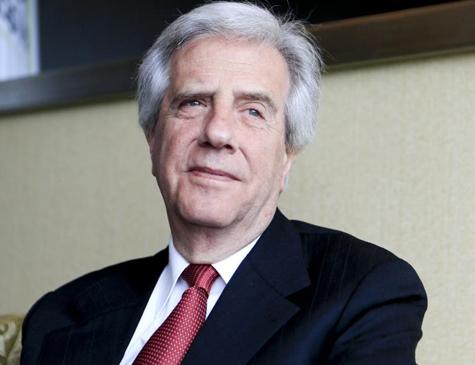Presidente do Uruguai Tabaré Vázquez